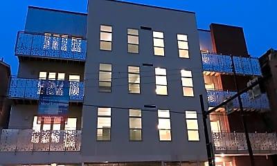 Community Signage, Square View Apartments, 0
