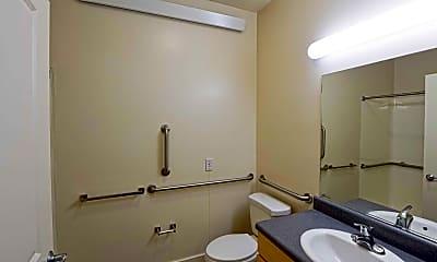Bathroom, Claiborne Square Senior Apartments, 2
