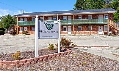 Community Signage, Piedmont Manor, 2