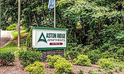 Community Signage, Aston Ridge, 2