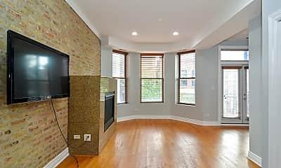 Living Room, 1508 W Cortez St 3, 1