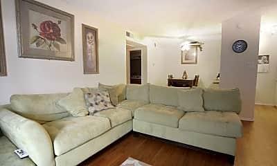 Living Room, Veranda Court Apartments, 1