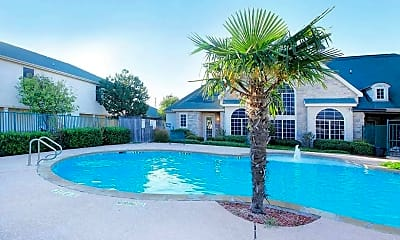 Pool, The Place at Houston Street Townhomes, 0