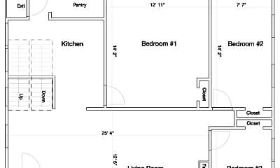 Building, 119 Lathrop St, 1