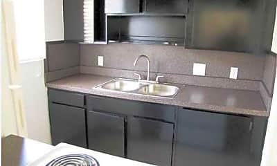 Kitchen, Palomas Apartments, 1