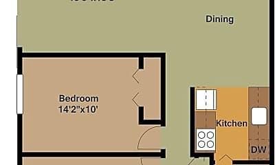 Living Room, 4701 Indian Hills Dr, 2