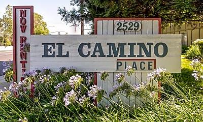 Community Signage, El Camino Place, 2