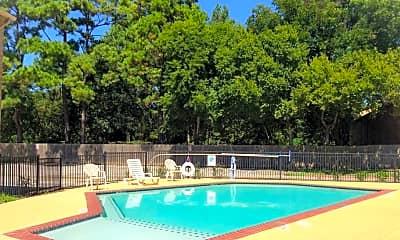 Pool, Bay Oaks, 1