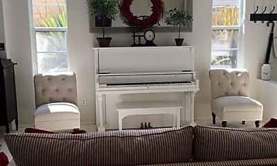 Living Room, 4472 Camino De La Rosa, 2