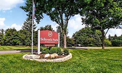 Community Signage, Schrock Park, 2