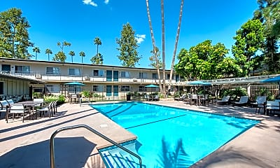 Pool, Walnut Heights Apartments, 0