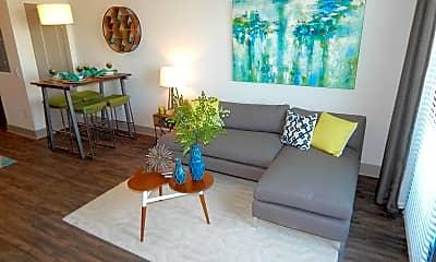Living Room, Artemis Midtown, 1