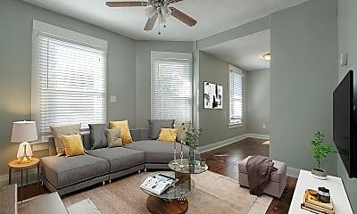 Living Room, 4416 Terrace St, 1