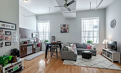 Living Room, 4 Leverington Ave 102, 1