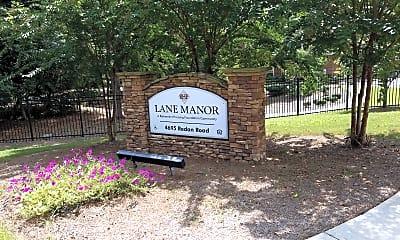 Lane Manor, 1