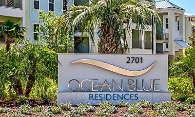 Community Signage, Ocean Blue Apartments, 2