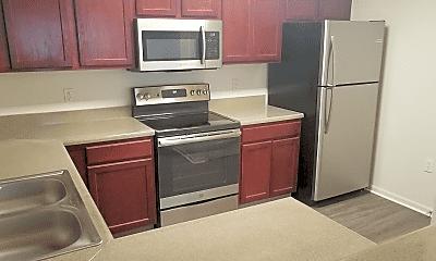 Kitchen, Saddlewood Apartments, 2
