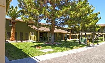 Building, Desert Palms Apartments, 1