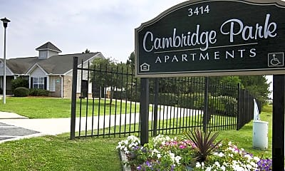 Community Signage, Cambridge Park Apartments, 2