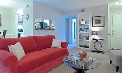 Living Room, Hampton Courts, 1