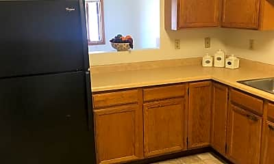 Kitchen, The Yorkshire Apartments, 1