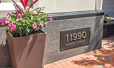 Community Signage, 11990 Market St 206, 1