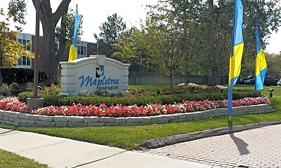 Landscaping, Mapletree Apartments, 2