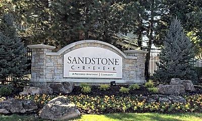 Community Signage, Sandstone Creek, 2