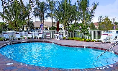 Pool, Mirage Bay Apartments, 0
