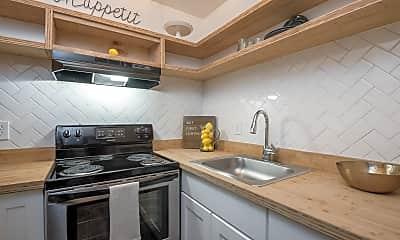 Kitchen, Capital Flats & Magnolia Square, 1