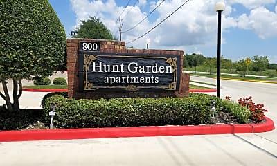 Hunt Garden Apartments, 1
