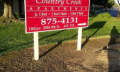Country Creek Apartments, 1