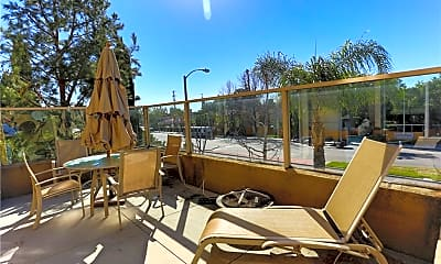 Patio / Deck, 3415 S Main St D, 2