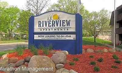 Community Signage, 8221 Riverview Ln, 1