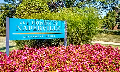 Community Signage, The Ponds of Naperville, 2