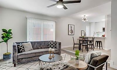 Living Room, 4425 Gilbert Ave STUDIO, 1