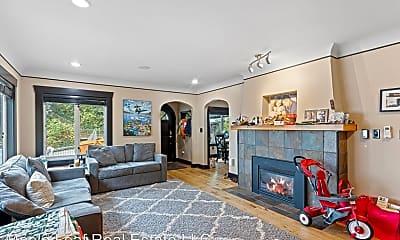 Living Room, 3718 E. Jefferson, 1