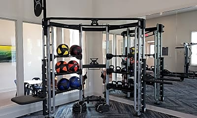 Fitness Weight Room, The Collins, 1