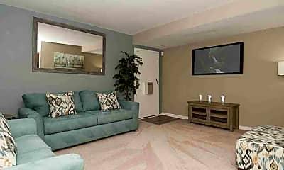 Living Room, Parkside Terrace, 0