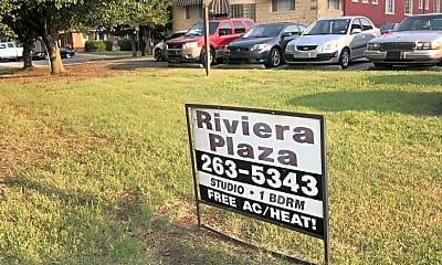 Riviera Plaza Apartments, 1