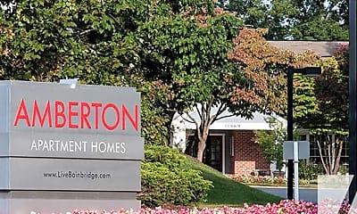 Community Signage, Amberton, 2