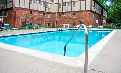 Pool, Park Hill Apartments, 1