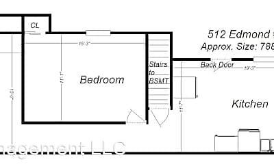 Building, 512 Edmond St, 1