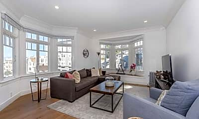 Living Room, 1303 Lombard St, 2