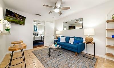 Living Room, The Hammocks on 20th, 0