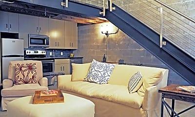 Living Room, The Warehouse Lofts, 1