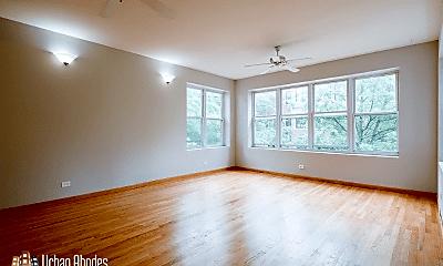 Living Room, 1052 N Oakley Ave, 2