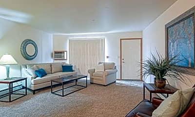 Living Room, Cobblestone Estates, 1