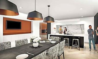 Kitchen, Ray Apartments, 1