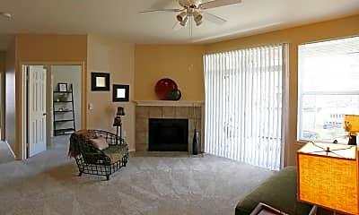 Living Room, Commons at Verandas, 1